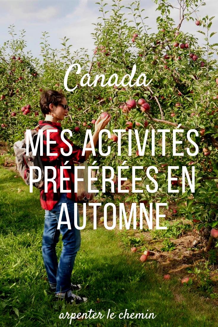 idees activites automne canada blog voyage arpenter le chemin