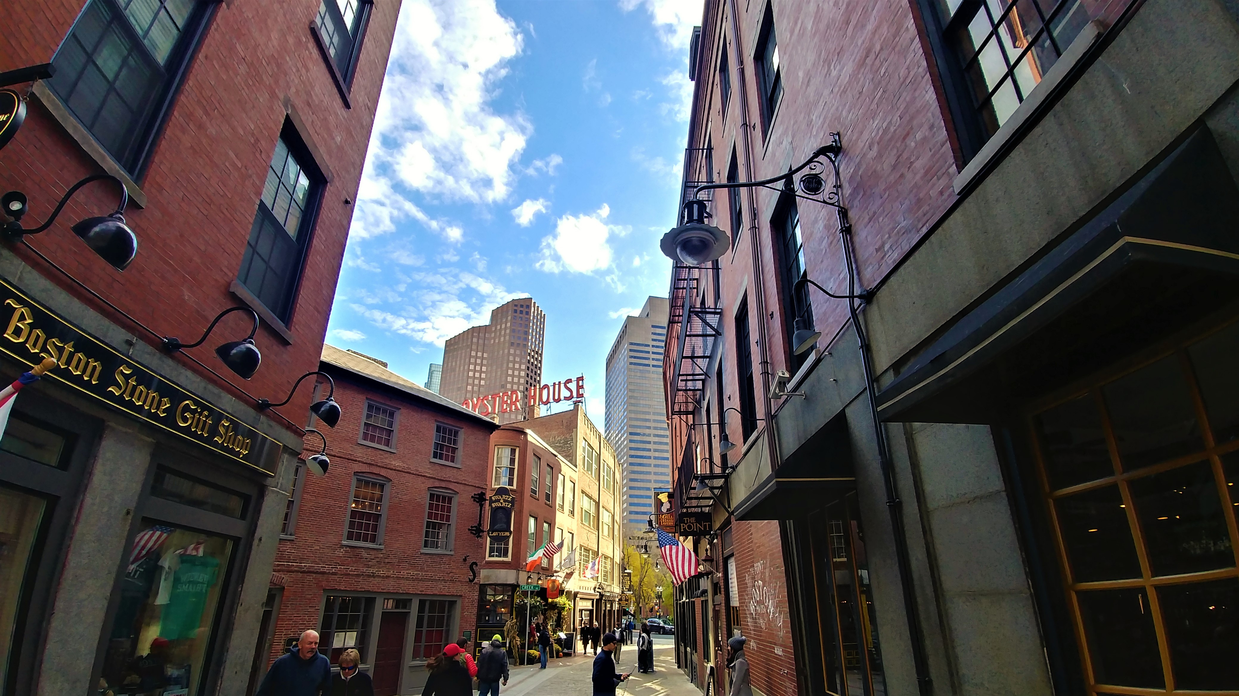 freedom trail boston usa voyage road-trip halloween
