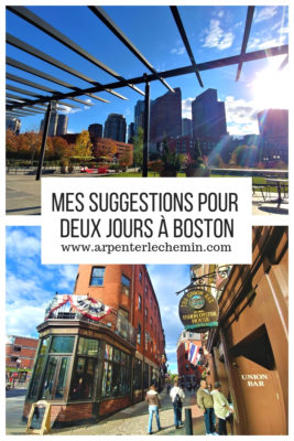 idees activites itineraire boston usa etats-unis voyage arpenter le chemin