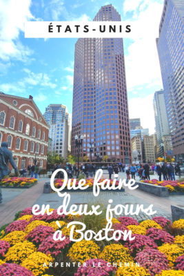 que faire boston usa etats-unis visite blog voyage road-trip arpenter le chemin