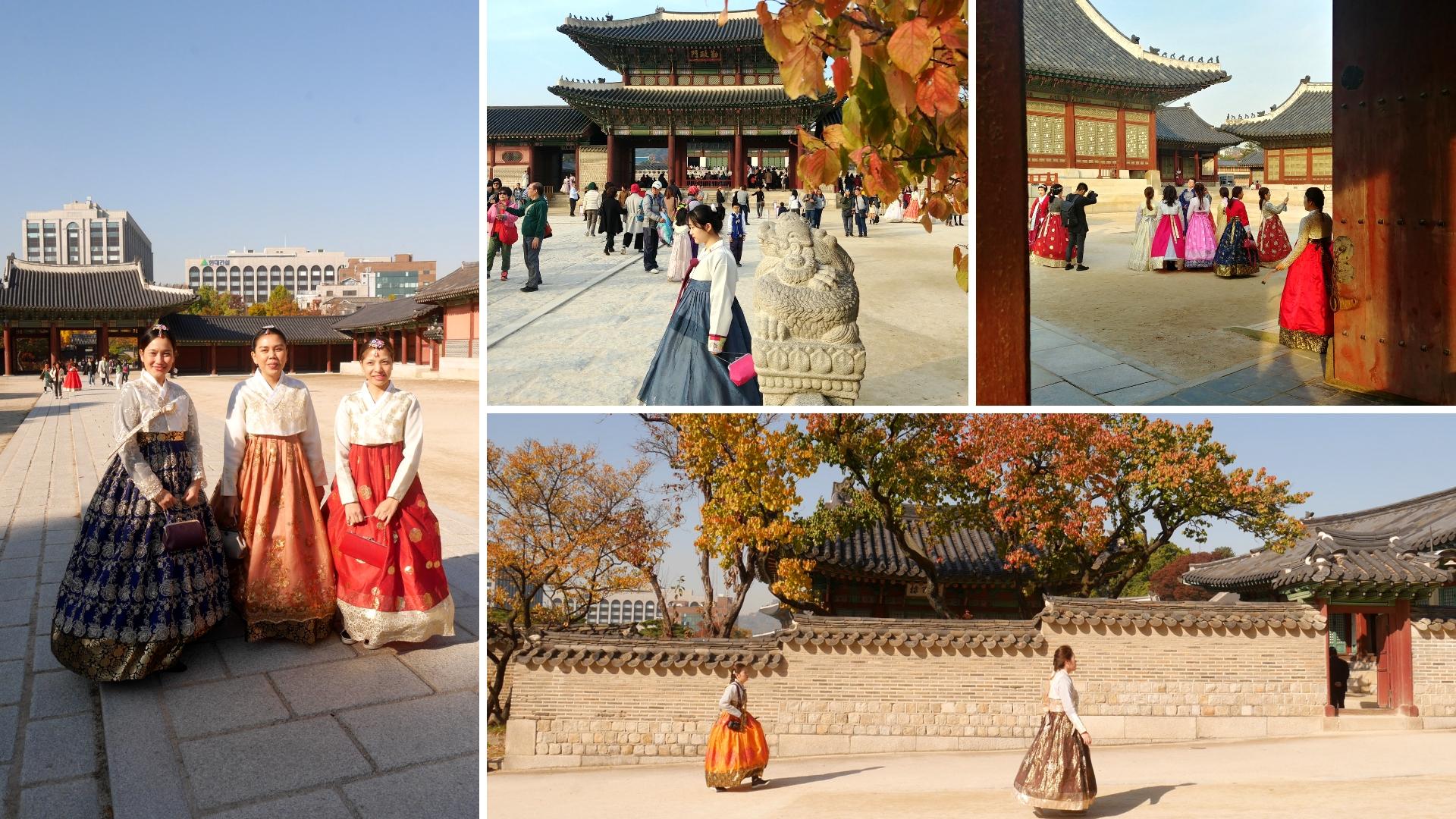 hanbok seoul coree du sud voyage arpenter le chemin