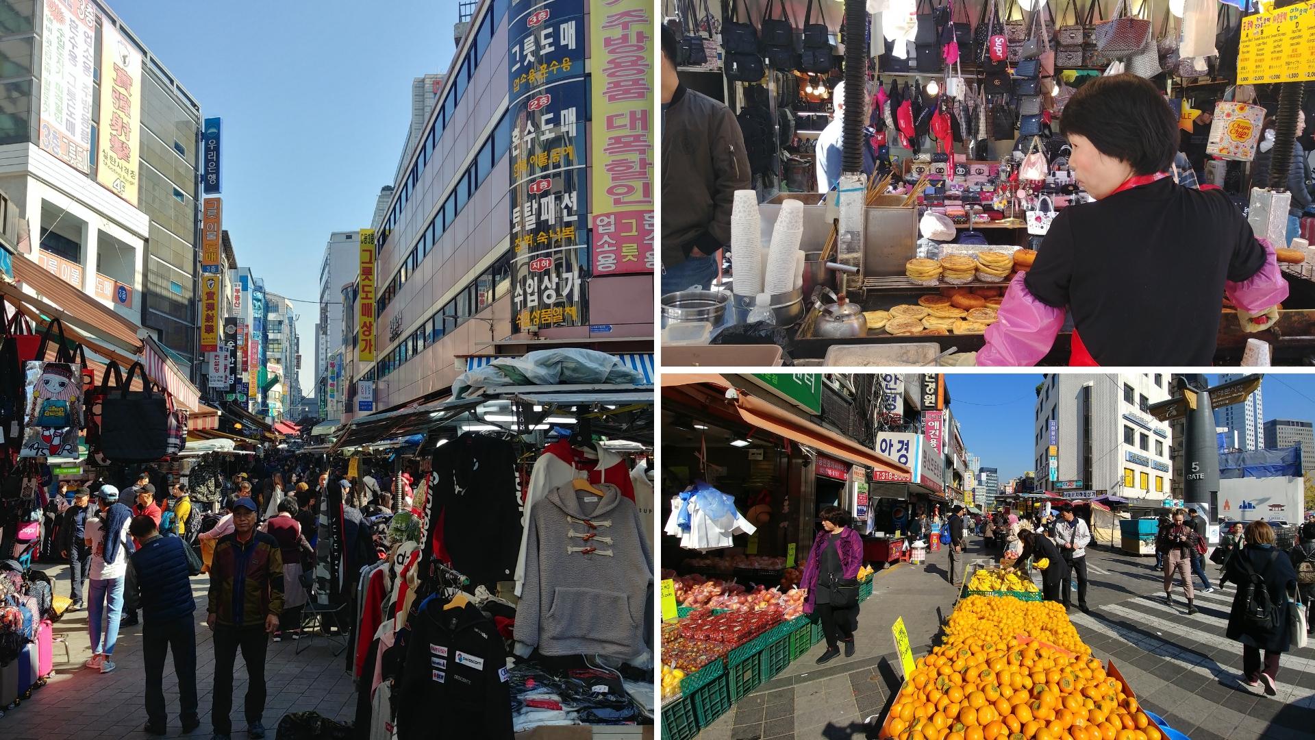 seoul marche namdaemun street food coree du sud blog voyage arpenter le chemin