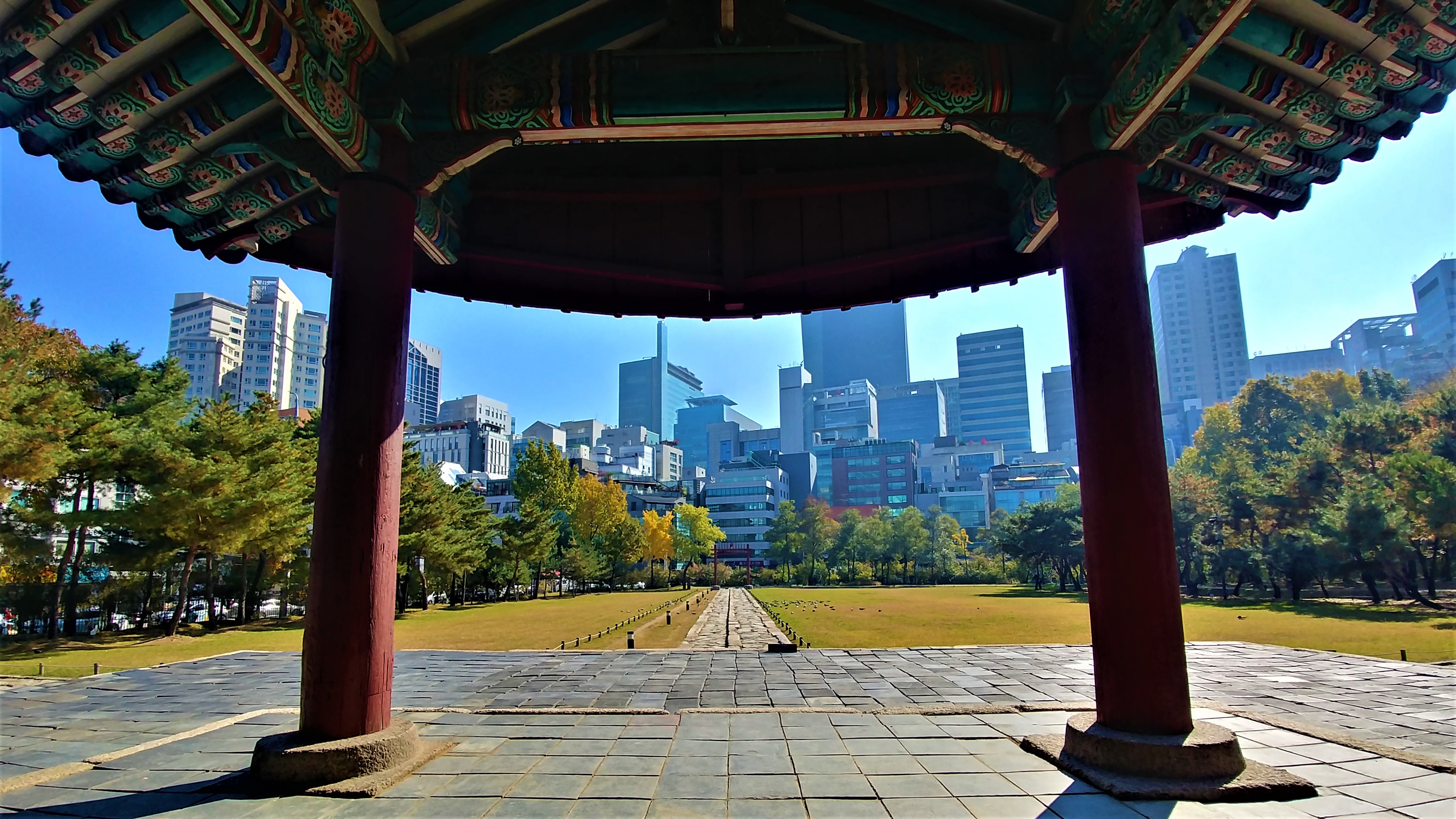 seoul seolleung tombes royales coree blog voyage arpenter le chemin