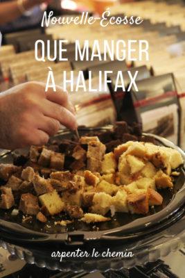 halifax gourmand que manger nouvelle-ecosse canada road-trip blog voyage arpenter le chemin
