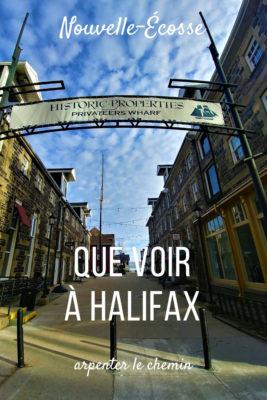 halifax week-end que voir que faire nouvelle-ecosse canada road-trip blog voyage arpenter le chemin
