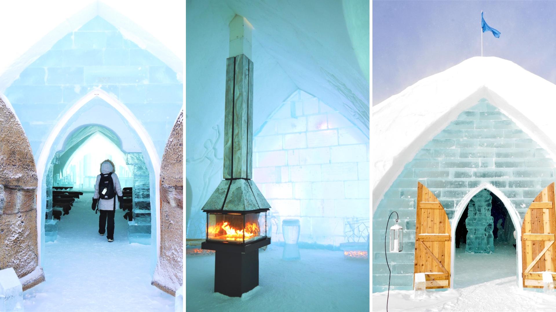 hotel glace valcartier quebec voyage hiver road-trip canada blog voyage arpenter le chemin