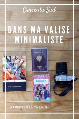 valise minimaliste coree seoul busan blog voyage road-trip usa arpenter le chemin