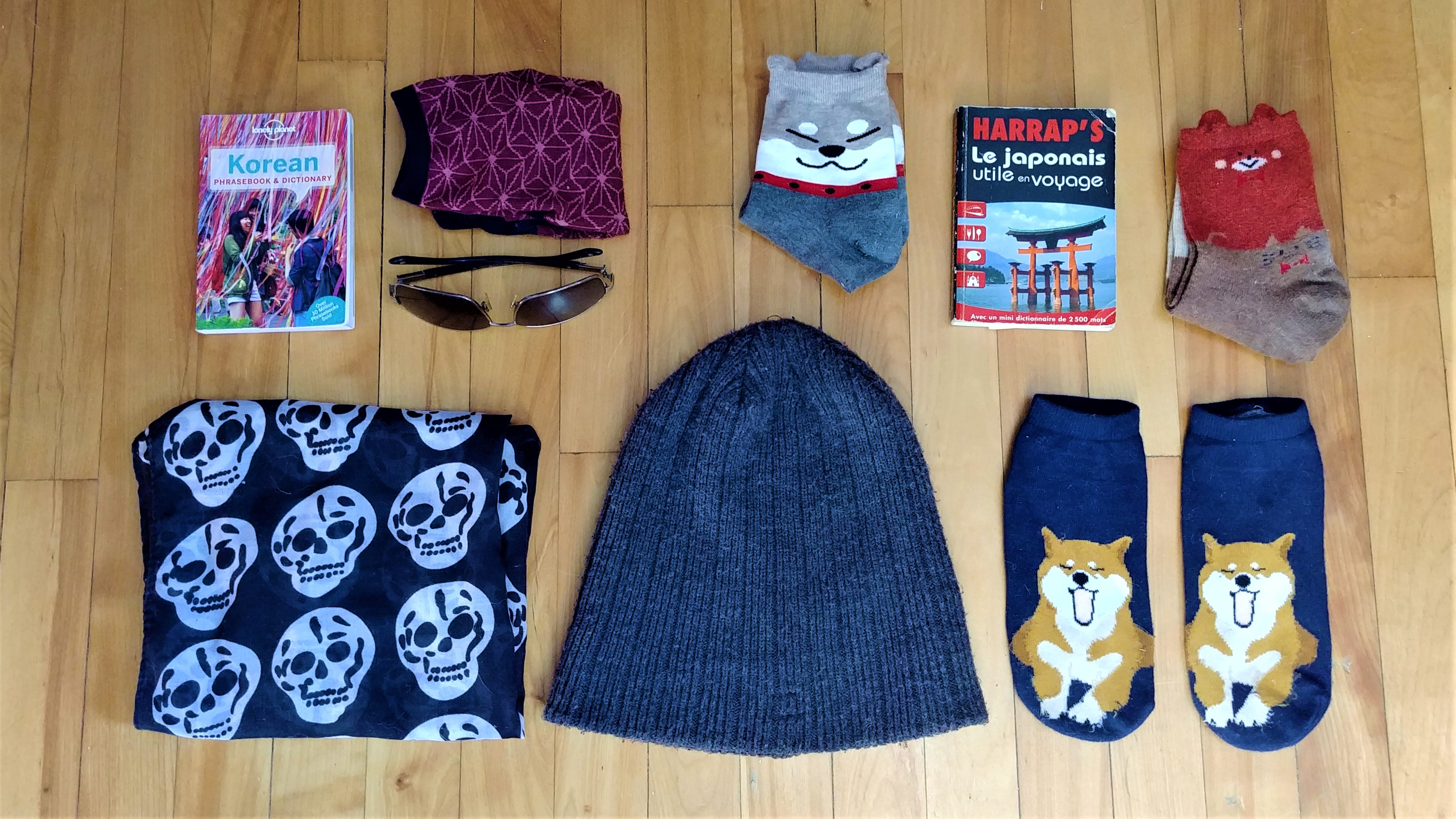 valise minimaliste voyage asie japon coree blog voyage arpenter le chemin
