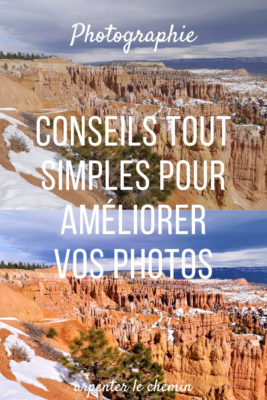 conseils ameliorer photos saturation contraste luminosite blog voyage canada arpenter le chemin
