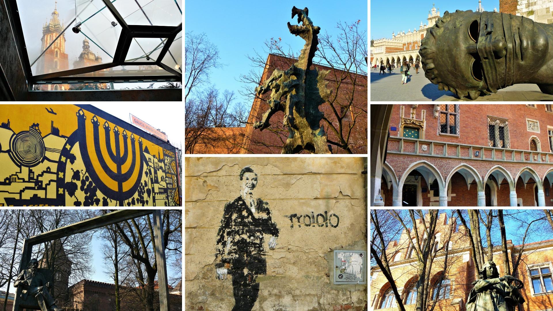 cracovie vieille ville pologne blog voyage europe de l'est train arpenter le chemin