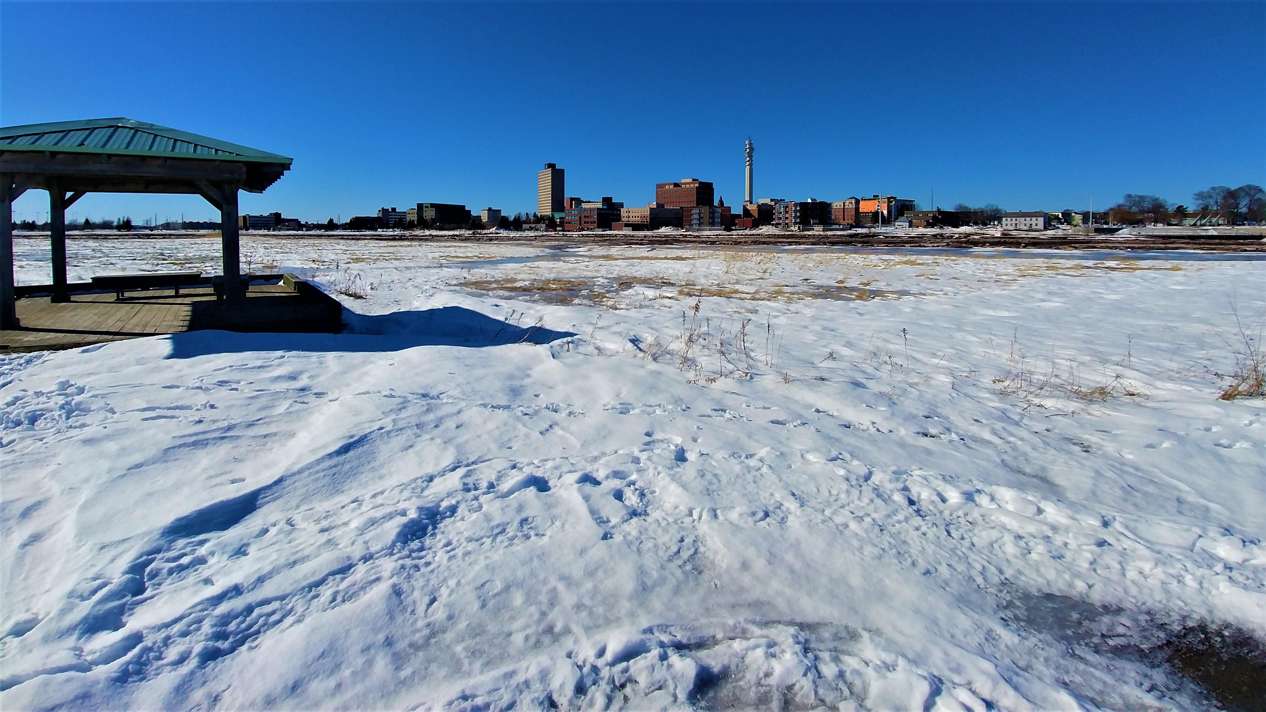 moncton hiver neige nouveau-brunswick blog voyage canada road-trip arpenter le chemin