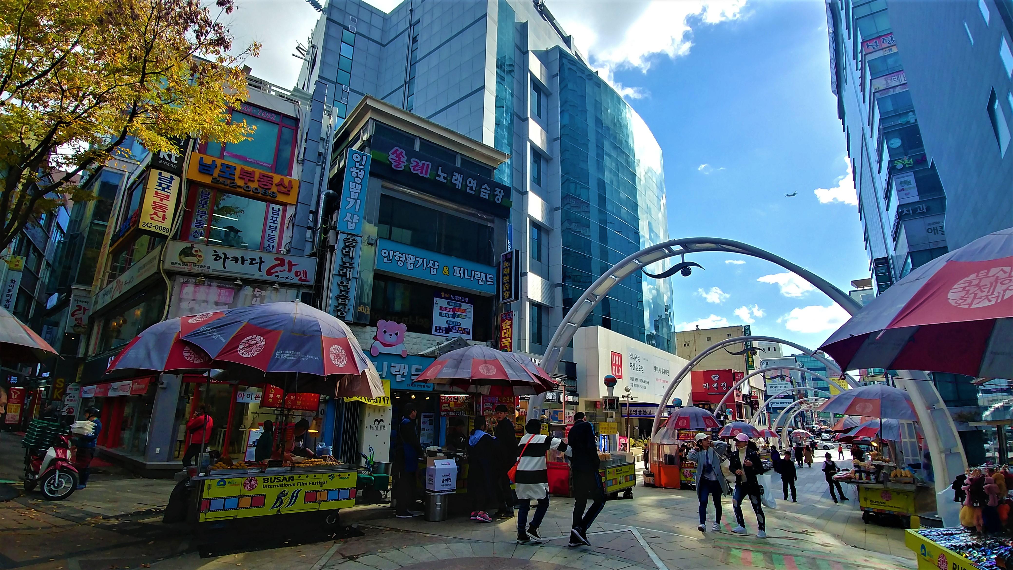 Busan Biff square marche gukje que voir blog voyage coree du sud