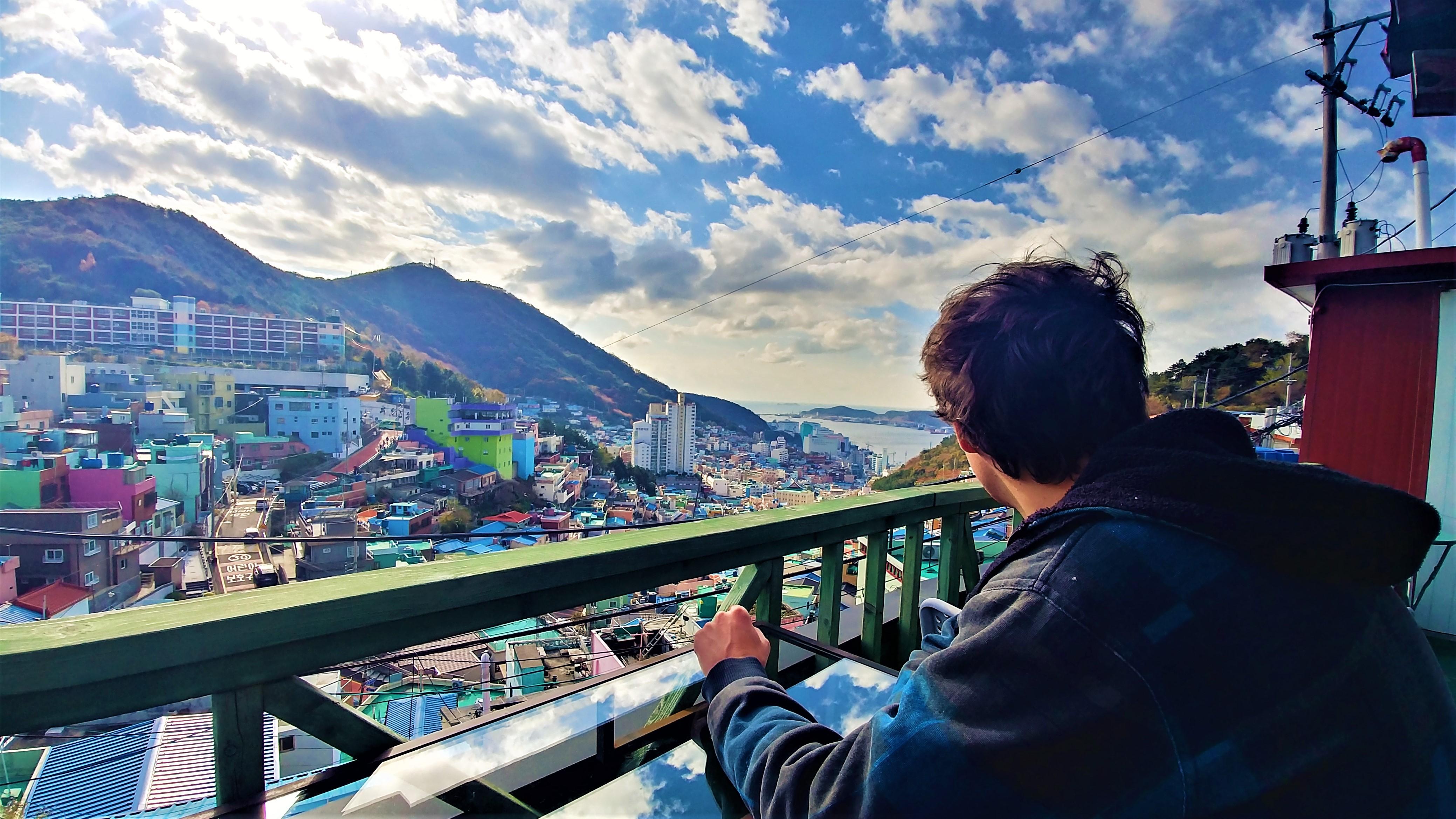 Busan gamcheon village culturel panorama que voir coree du sub blog voyage arpenter le chemin