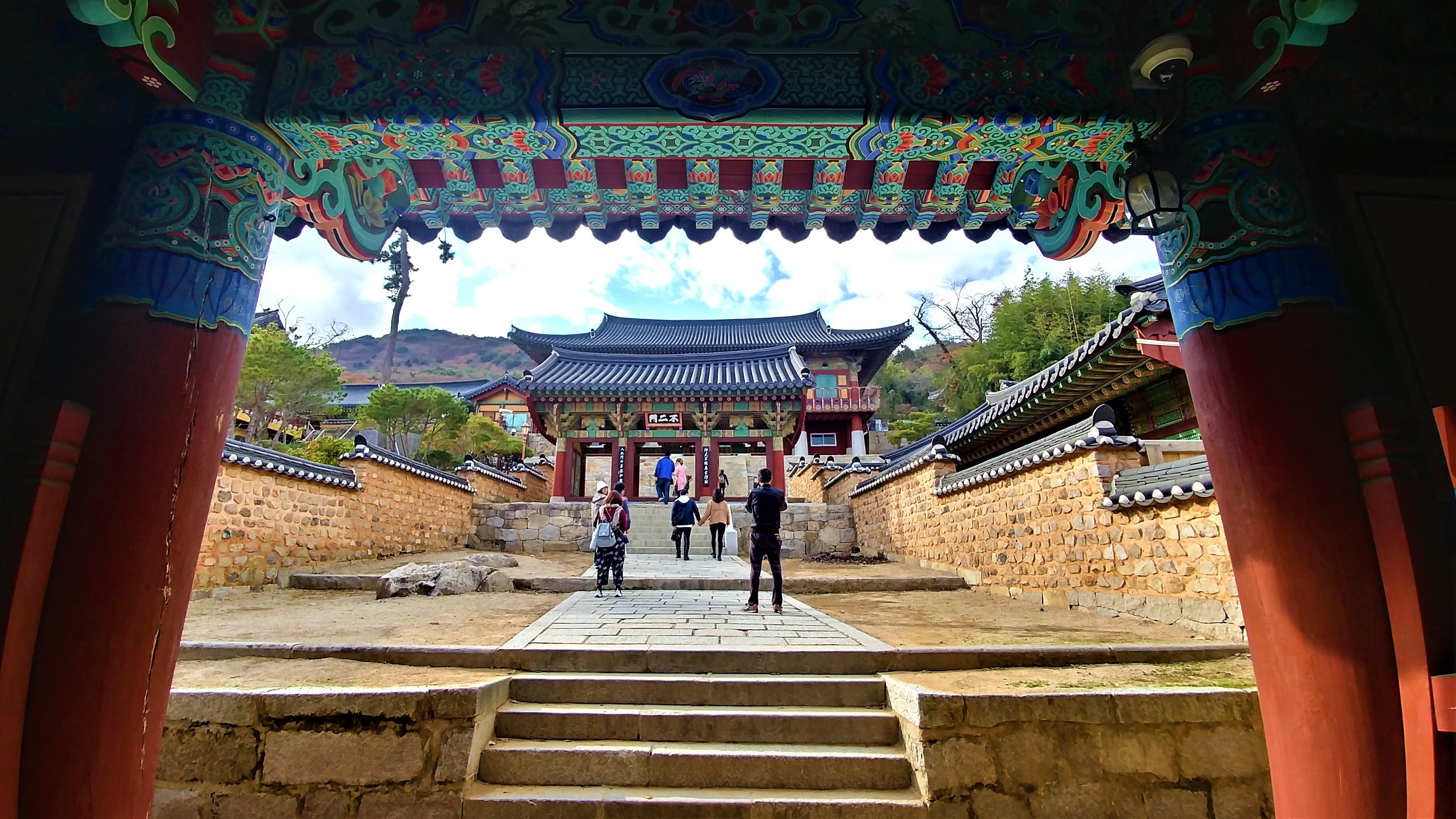 Busan temple beomeosa que voir blog voyage coree arpenter le chemin