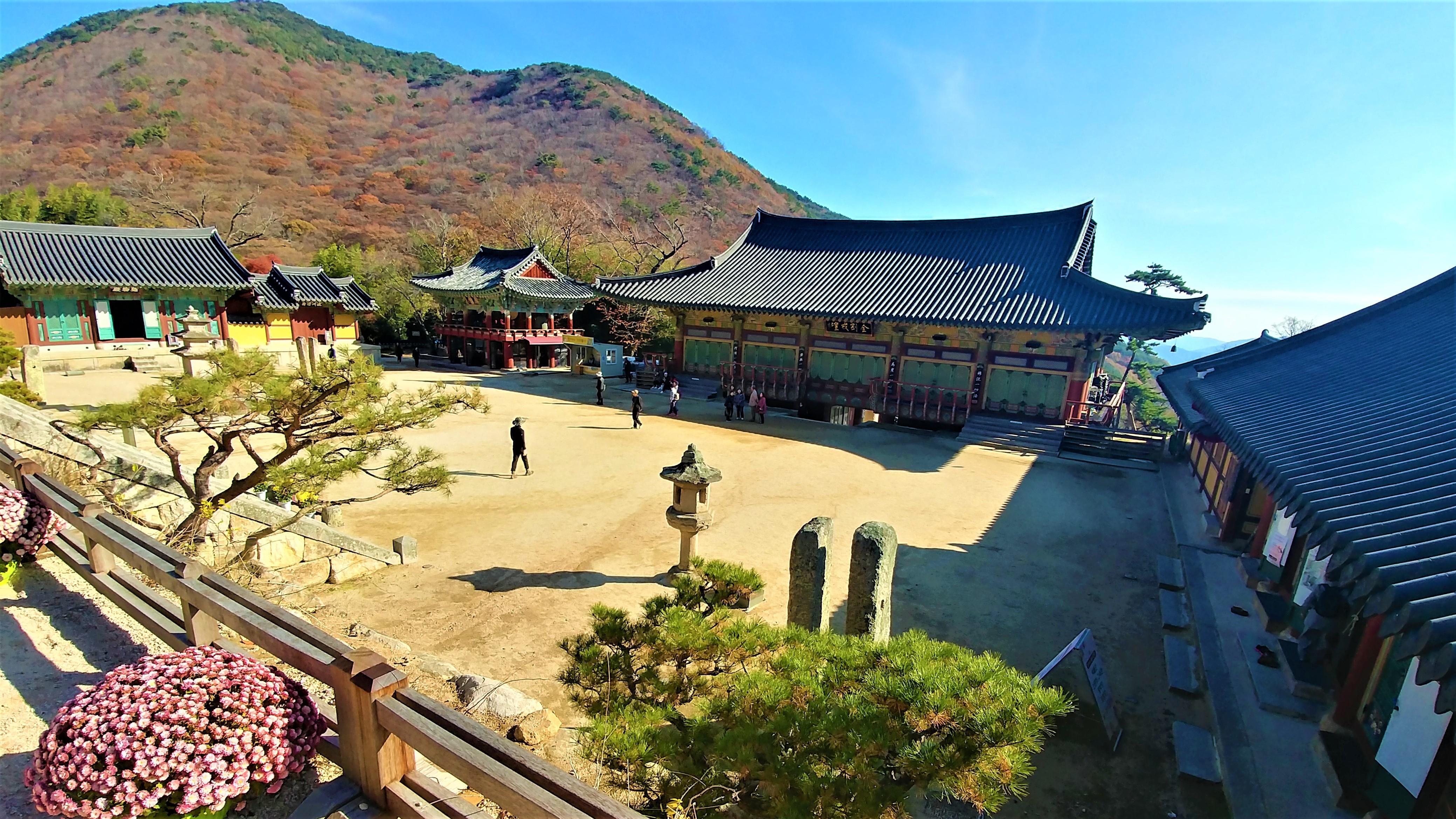 Busan temple beomeosa visite templestay que voir bouddhisme coree du sud blog voyage arpenter le chemin