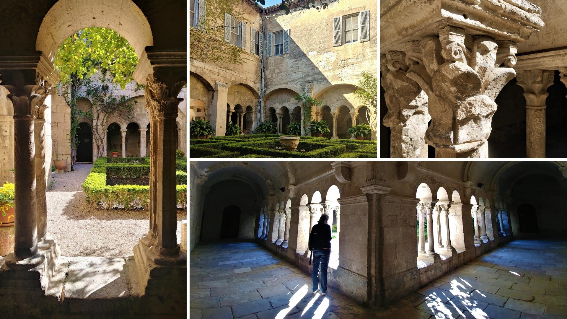 Glanum Saint paul de Mausole saint remy provence van gogh que faire blog voyage france arpenter le chemin