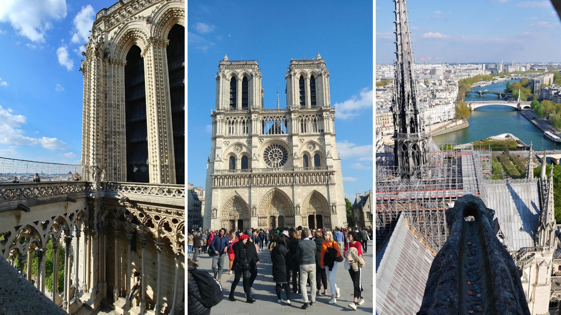 Notre-Dame Paris cathedrale visiter blog voyage france arpenter le chemin