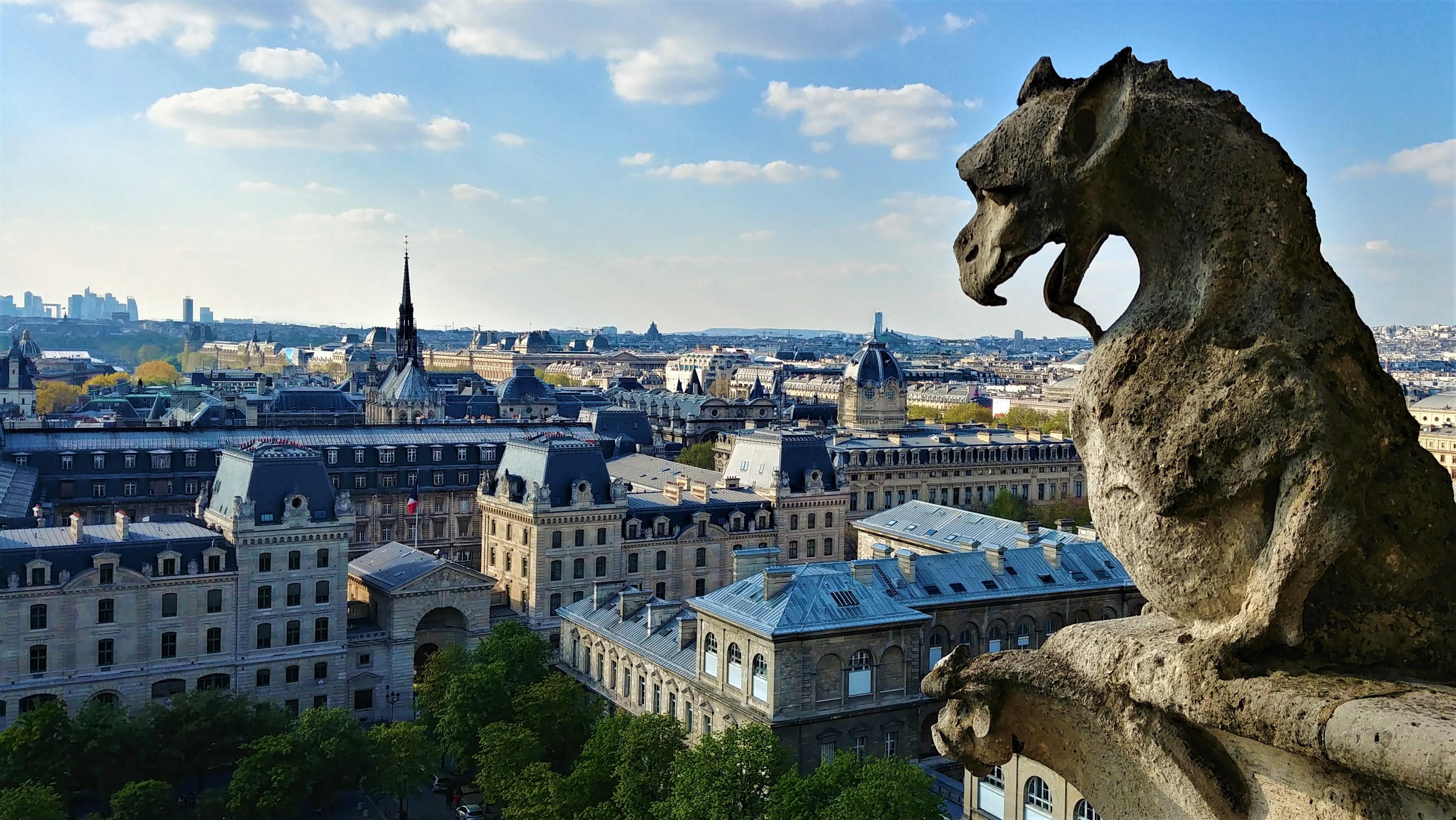 Notre-Dame Paris chimere tour nord