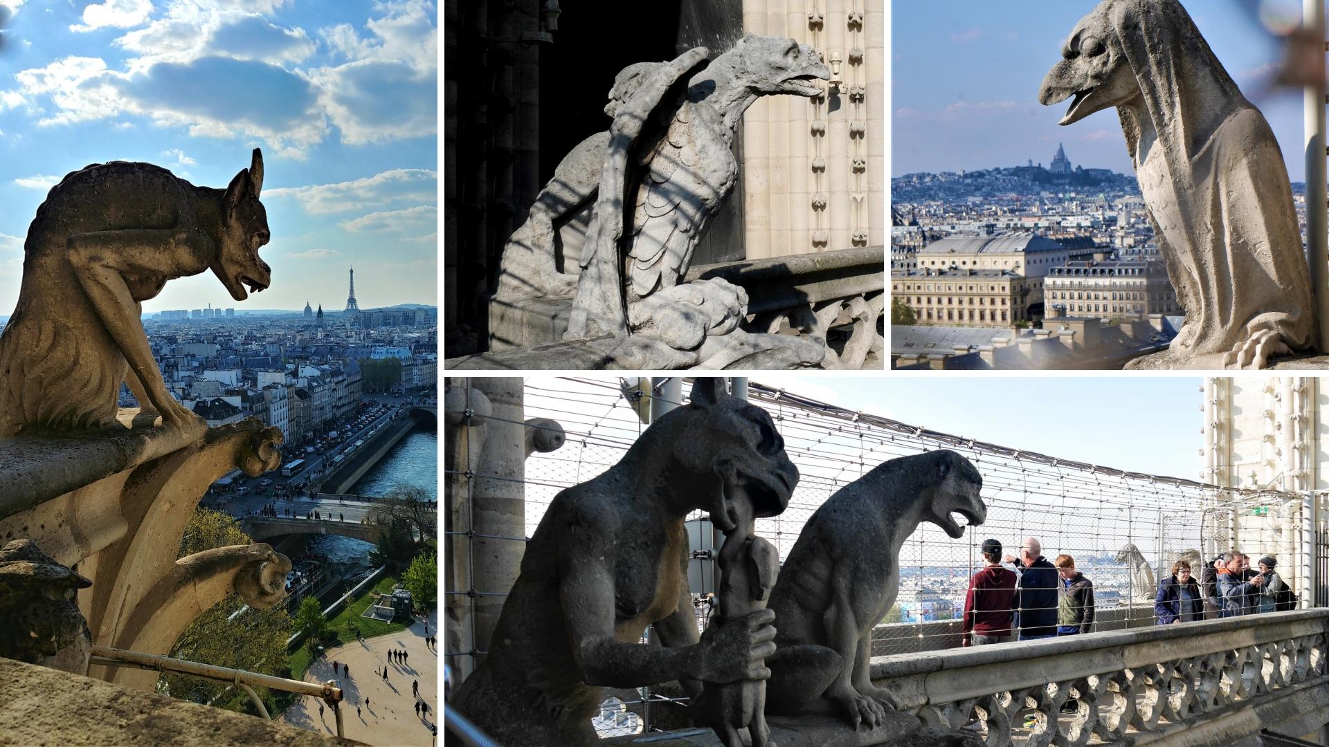 Notre-Dame Paris chimeres gargouilles visiter blog voyage france arpenter le chemin