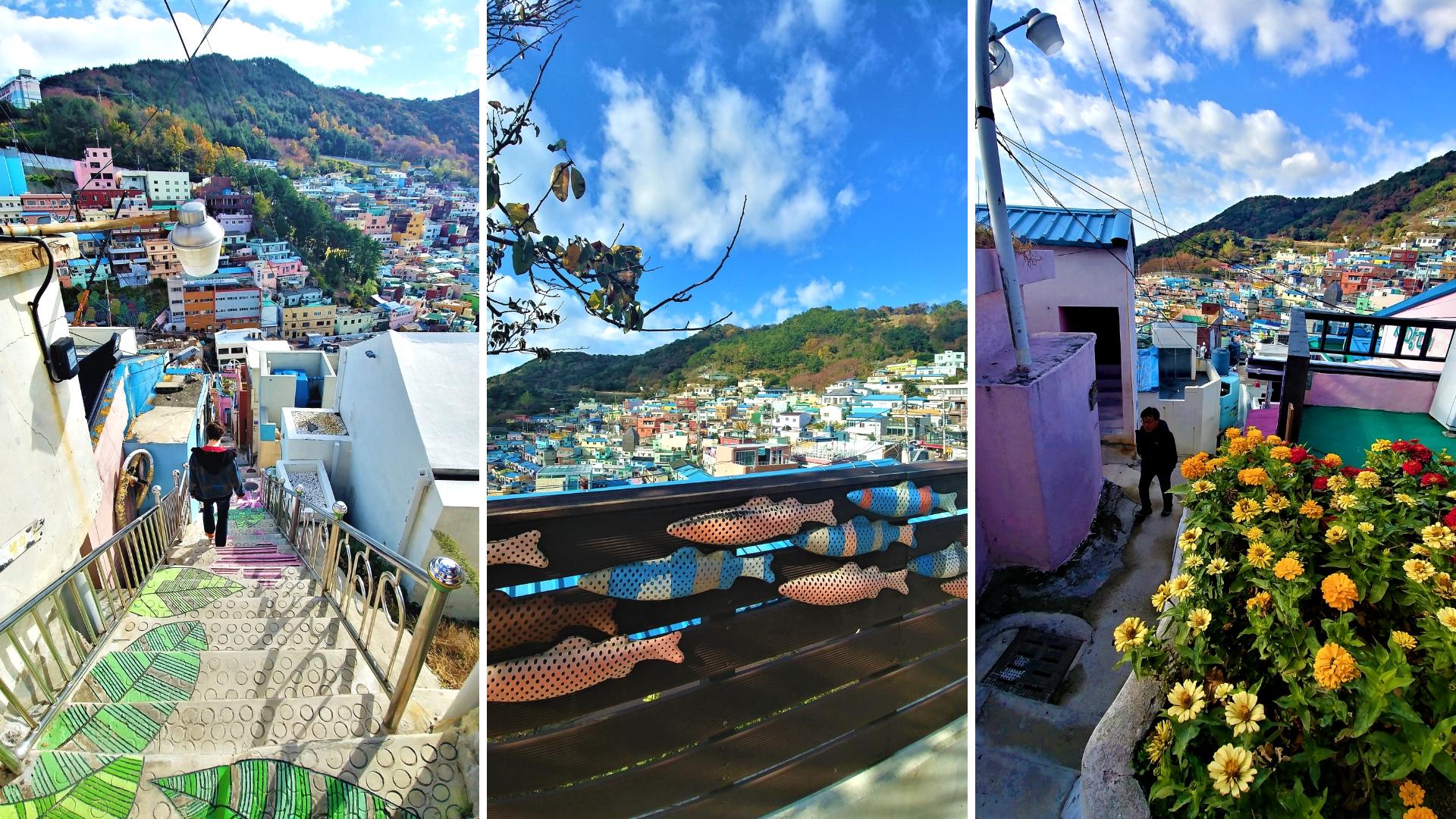 busan gamcheon visite street art blog voyage coree du sud arpenter le chemin