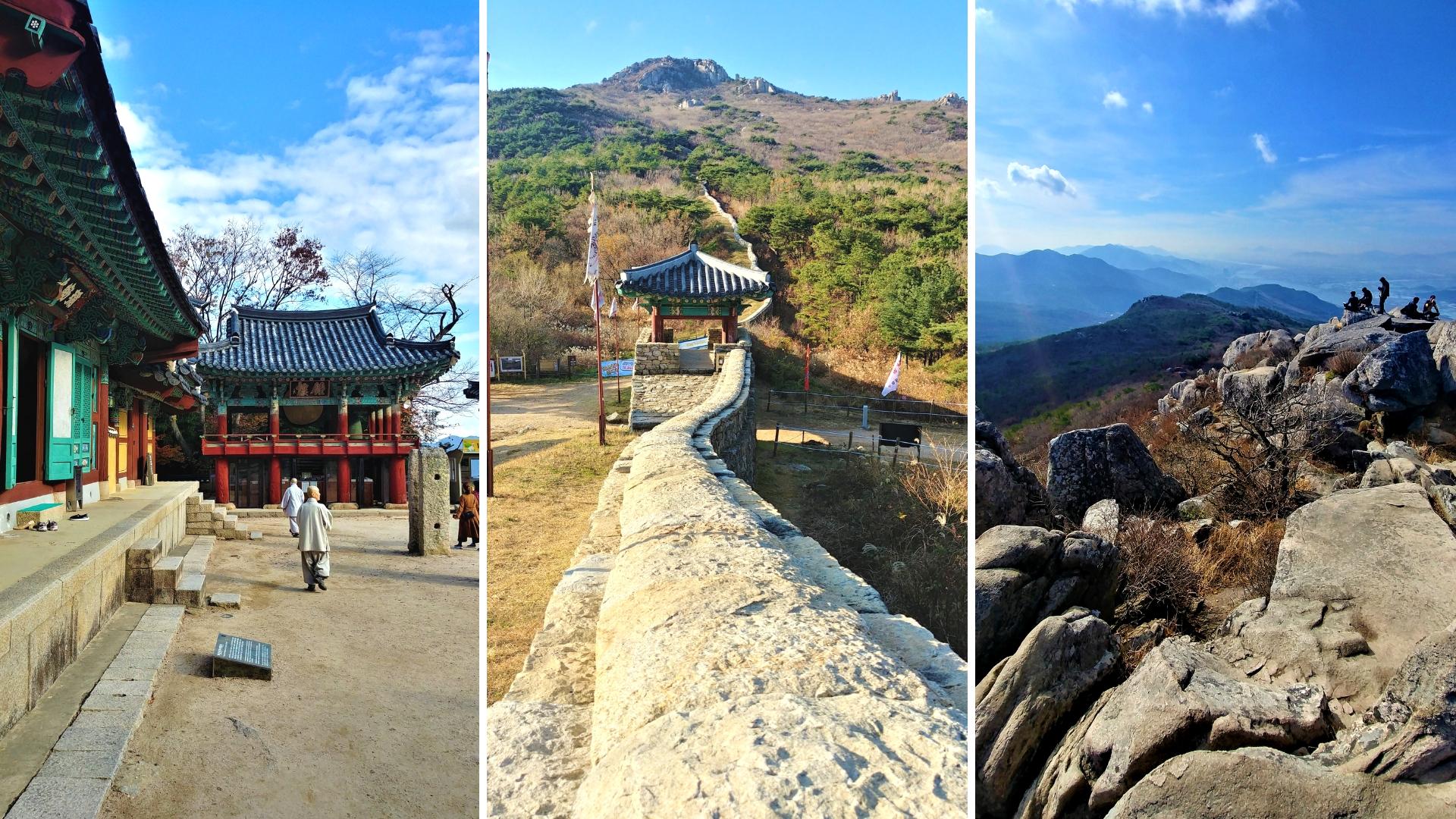 busan temple beomeosa mont Geumjeongsan randonee visite templestay blog voyage coree du sud arpenter le chemin