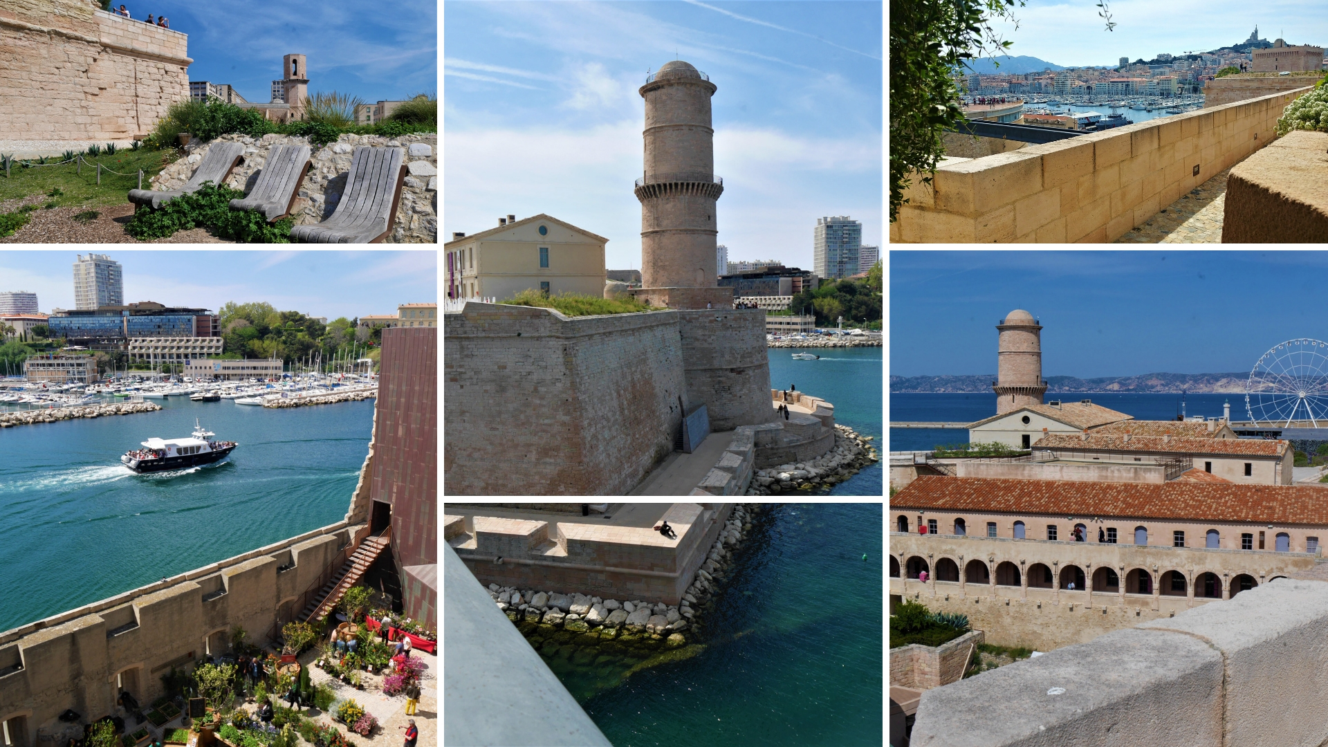 marseille fort saint-jean mucem visiter provence blog voyage france arpenter le chemin