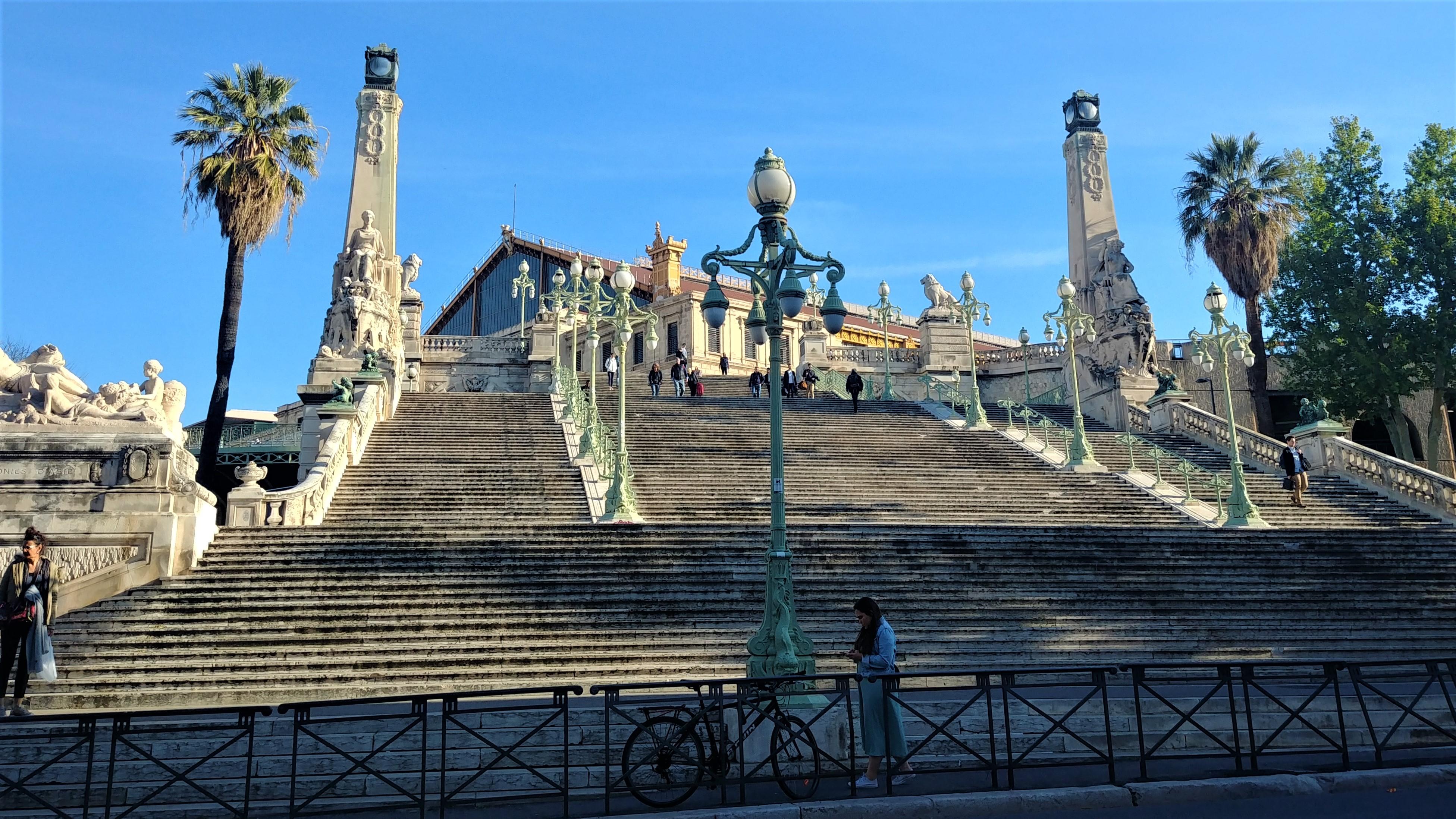 marseille saint-charles gare comment venir voyage escapade