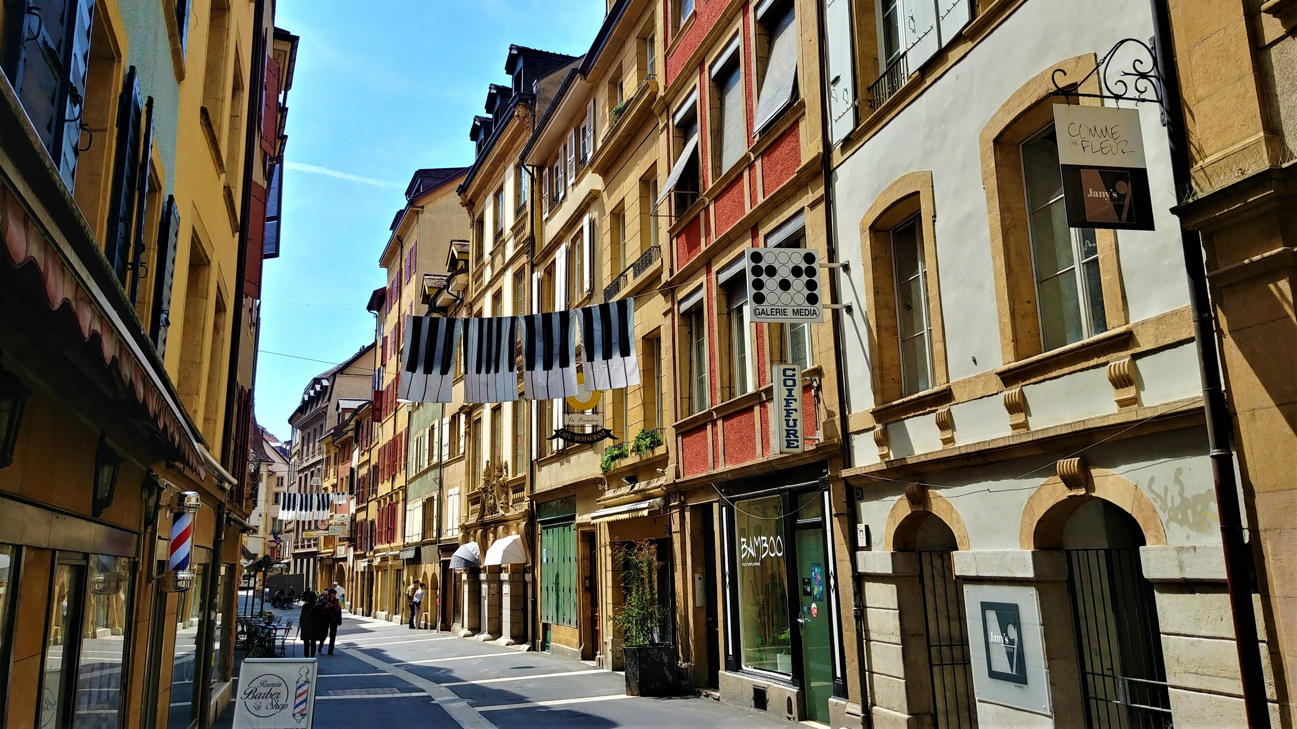 Neuchatel que visiter itineraire pied blog voyage suisse arpenter le chemin