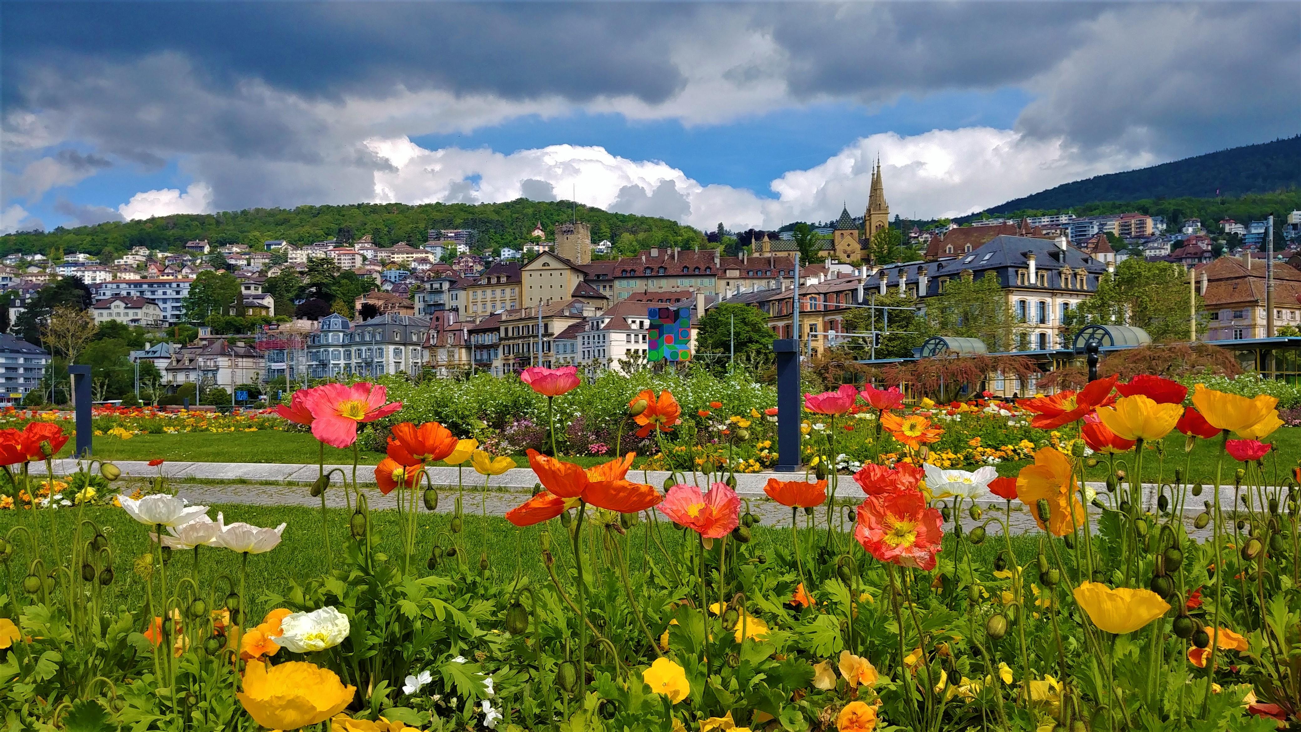 Neuchatel visite journee suisse romande voyage europe arpenter le chemin