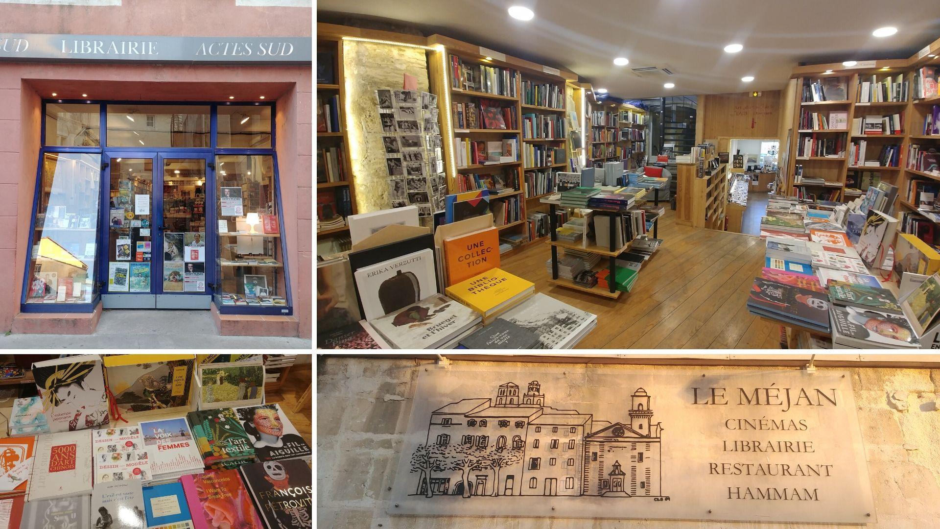 Arles librairie actes sud hammam escapade printemps que faire que voir