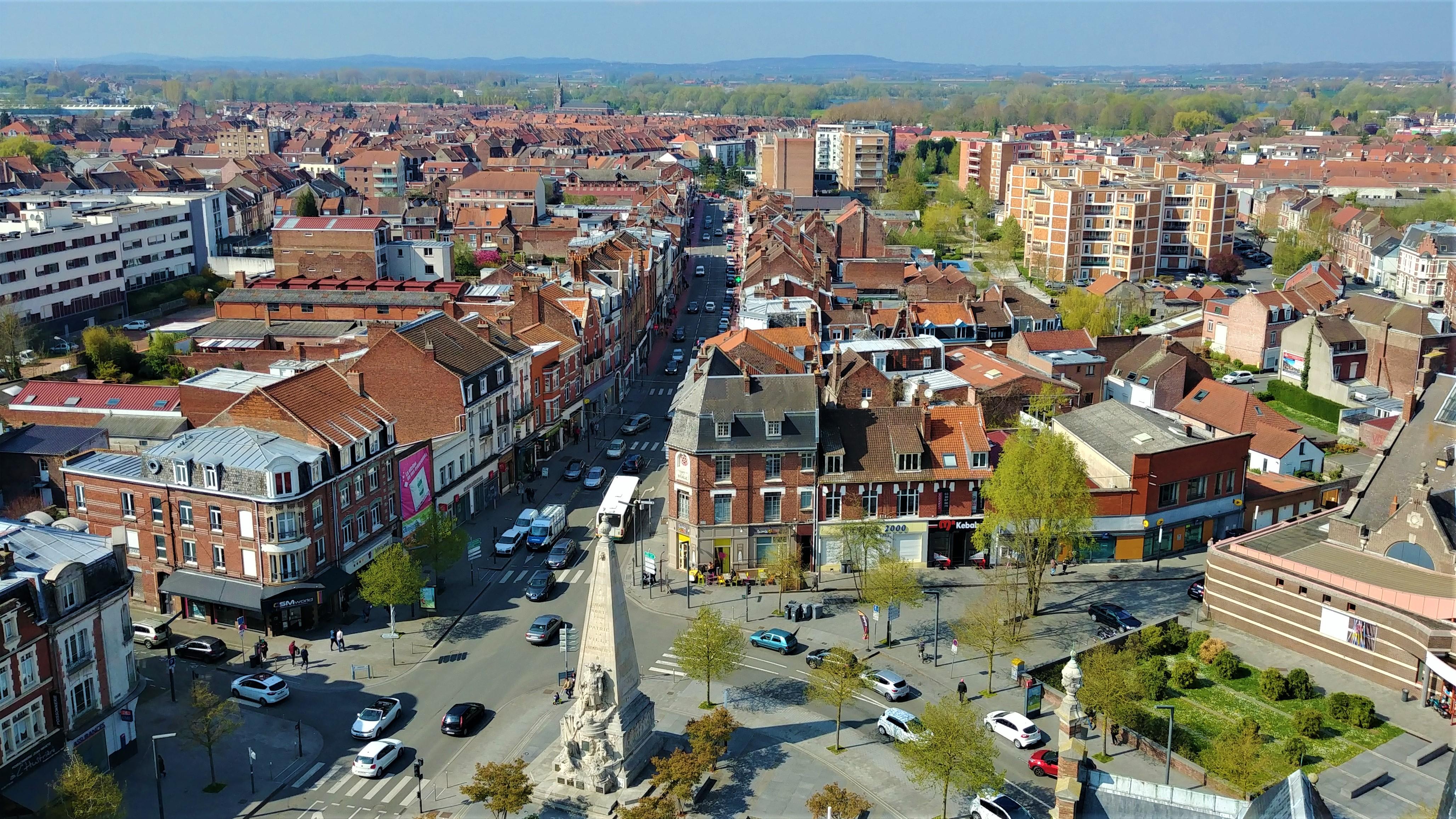 Armentieres beffroi vue belgique blog voyage
