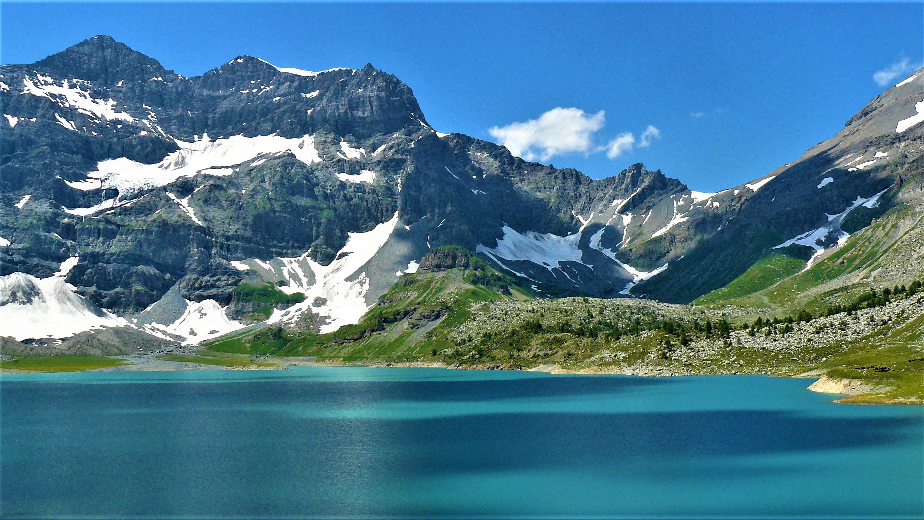 lac salanfe marecottes randonnee suisse romande valais