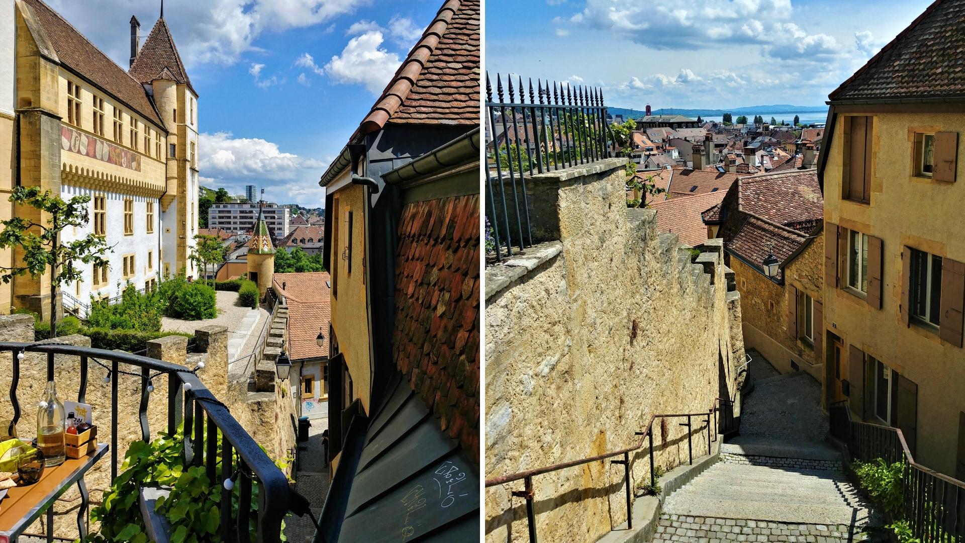 neuchatel chateau visiter circuit a pied ou dormir visiter suisse romande blog voyage