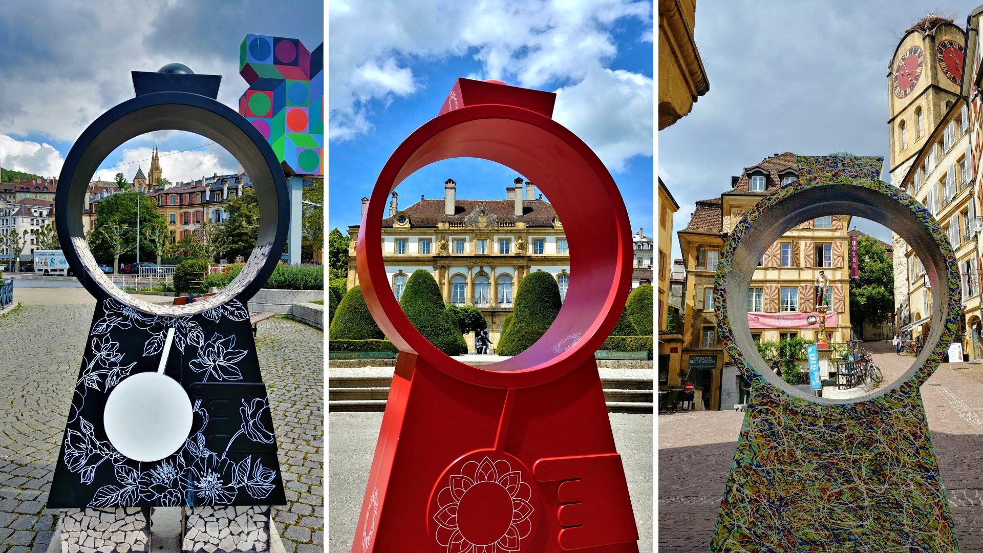 neuchatel street art vieille ville visiter itineraire suisse romande blog voyage