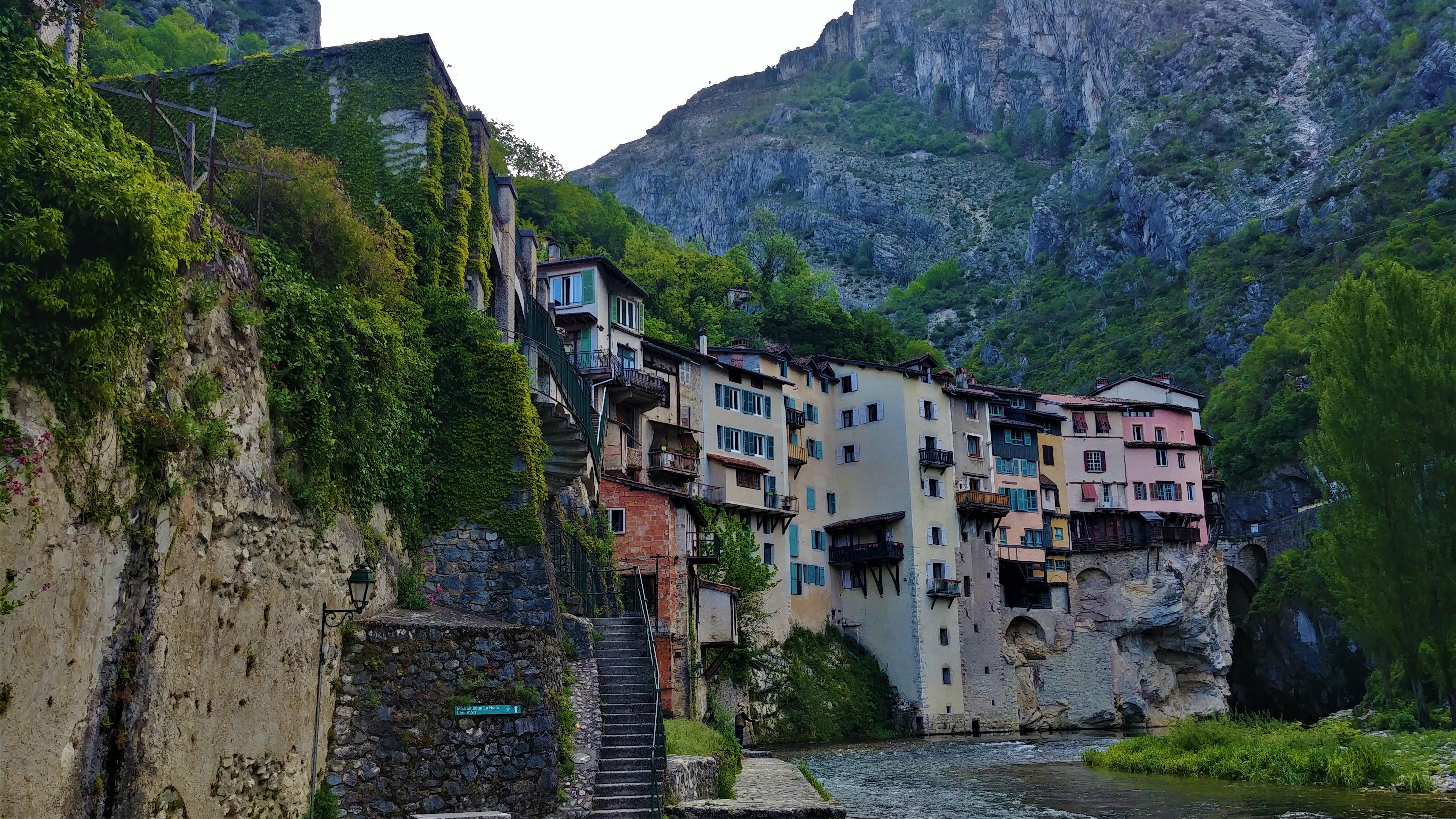 pont-en-royans maisons suspendues bourne isere blog voyage
