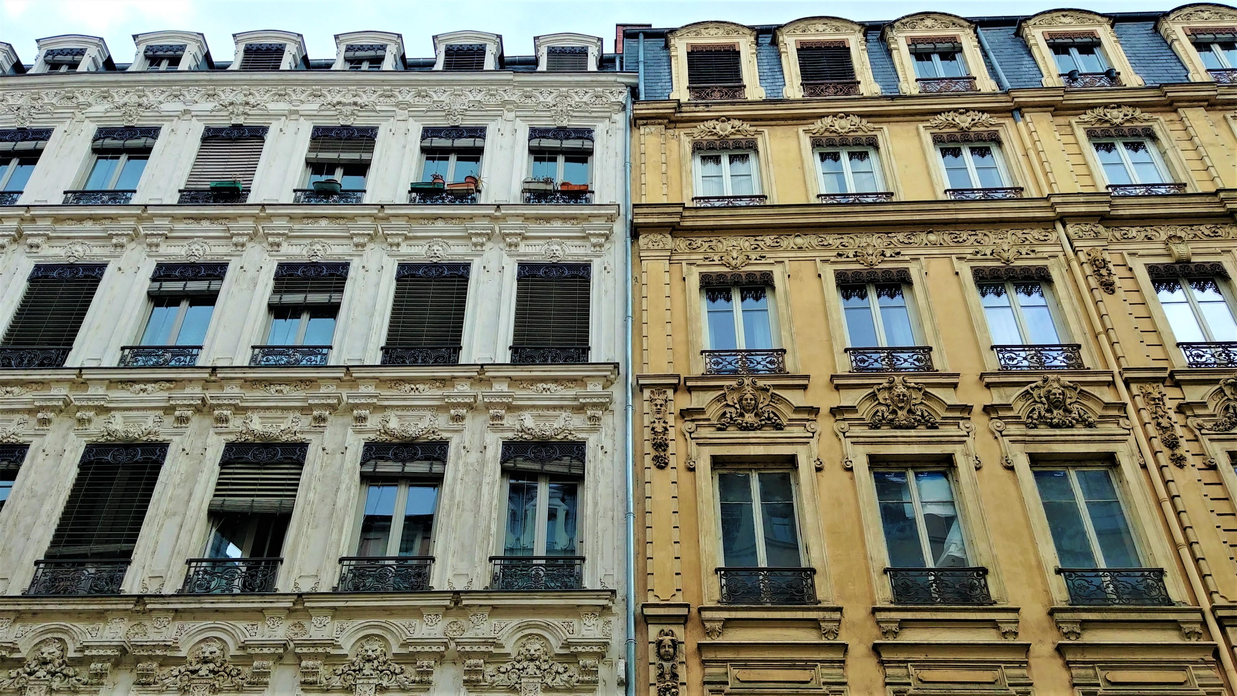 facades lyonnaises architecture