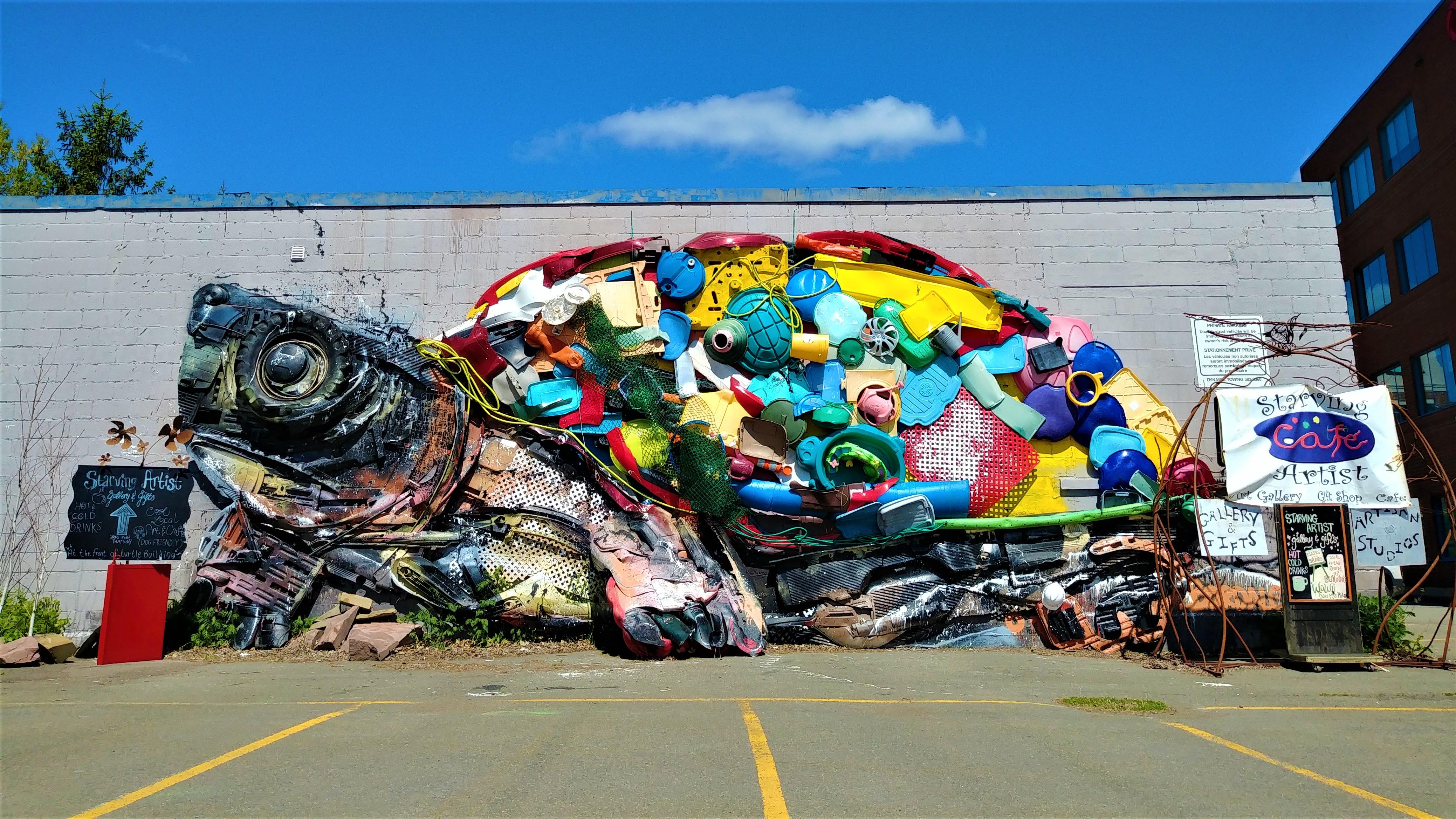 murale fresque moncton festival inspire street art canada