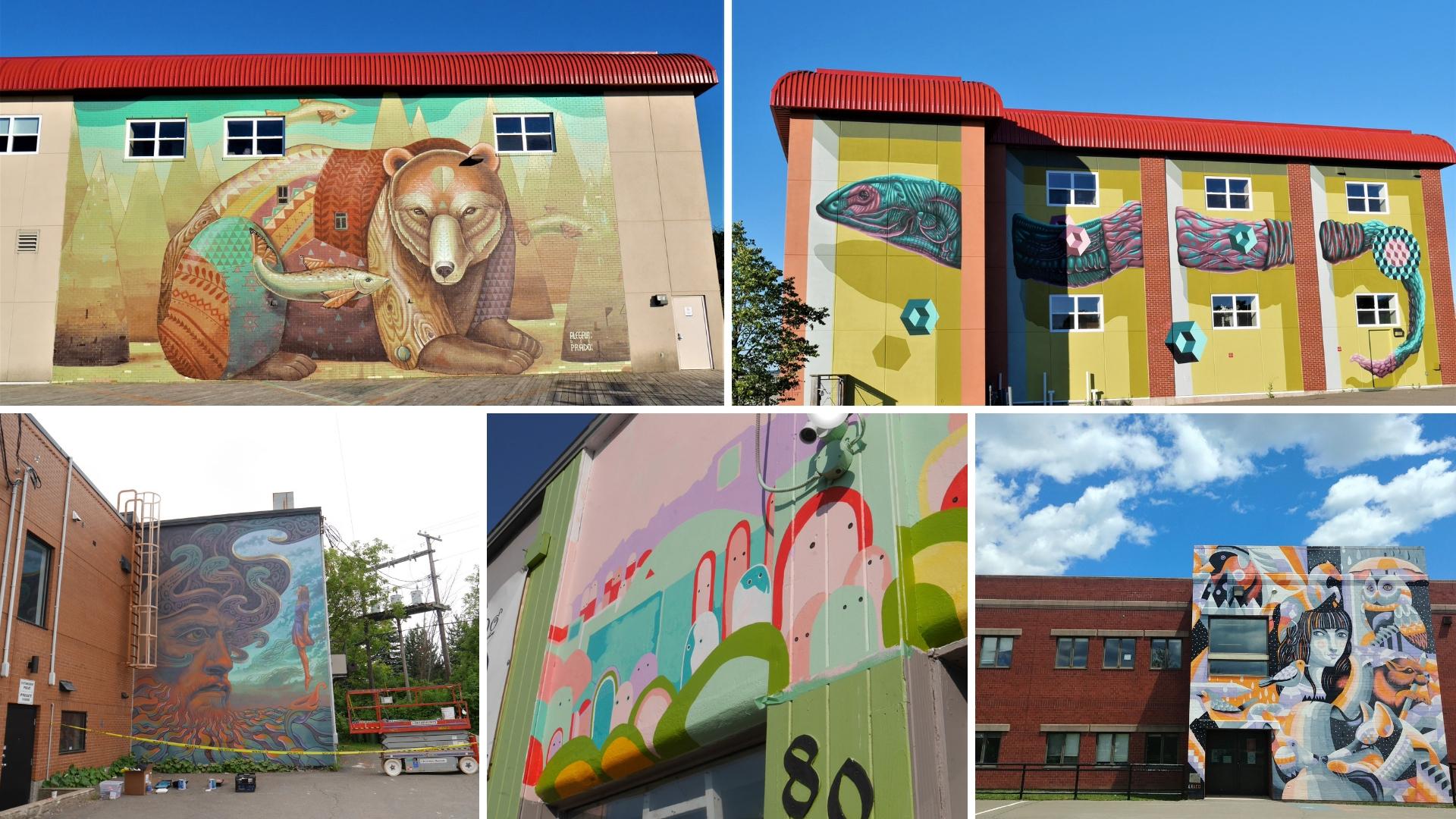 murales festival inspire moncton street art canada