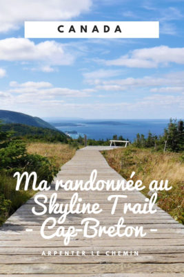 skyline trail cabot trail blog voyage canada automne arpenter le chemin