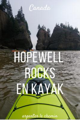 hopewell rocks kayak nouveau-brunswick canada