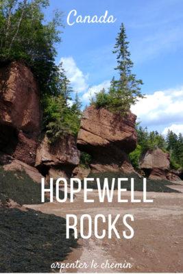 hopewell rocks nouveau-brunswick canada