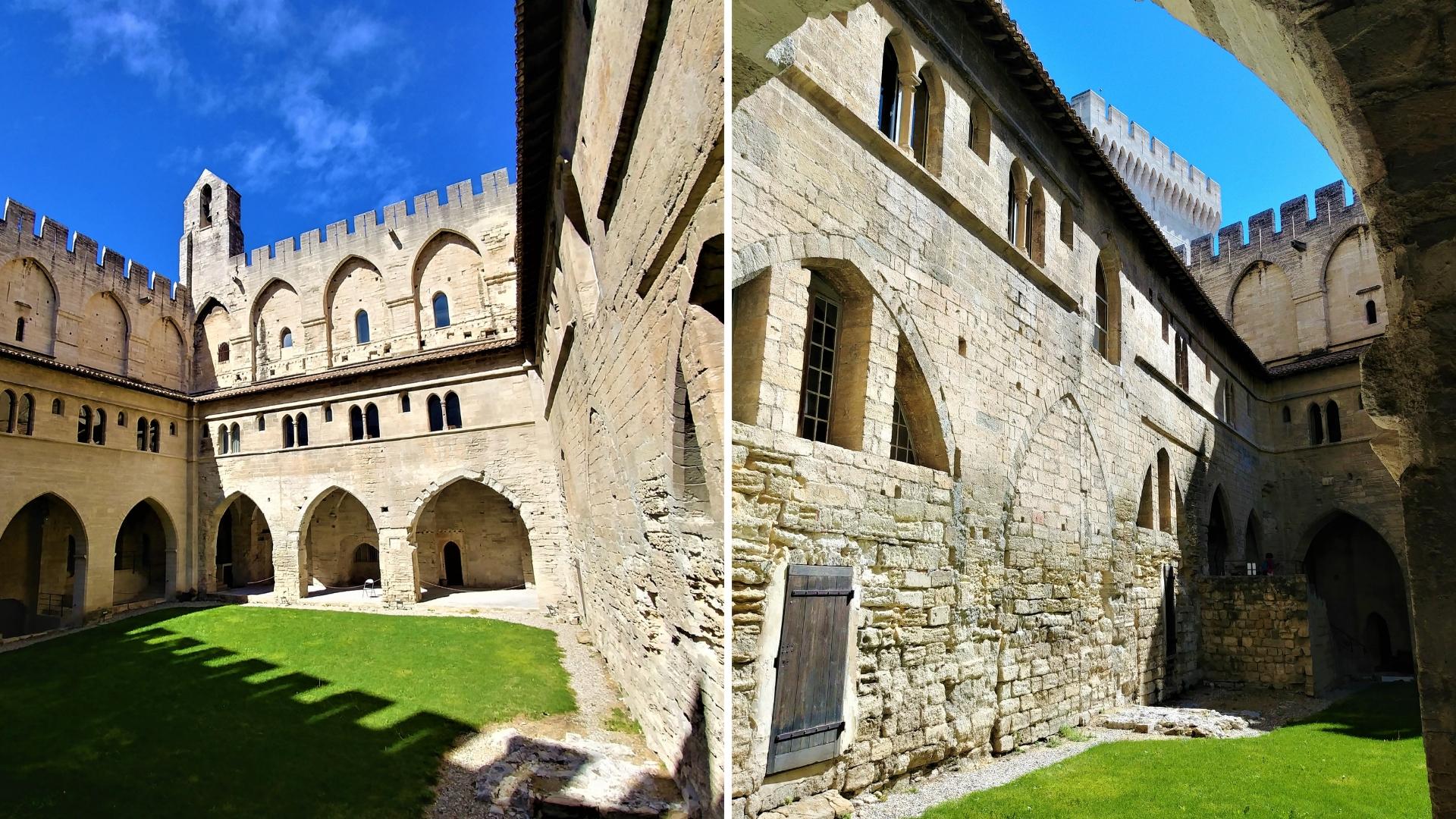 interieur palais papes visite avignon provence blog voyage france arpenter le chemin