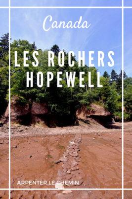 parc rochers hopewell nouveau-brunswick canada