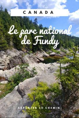 randonnees parc national fundy nouveau-brunswick canada voyage