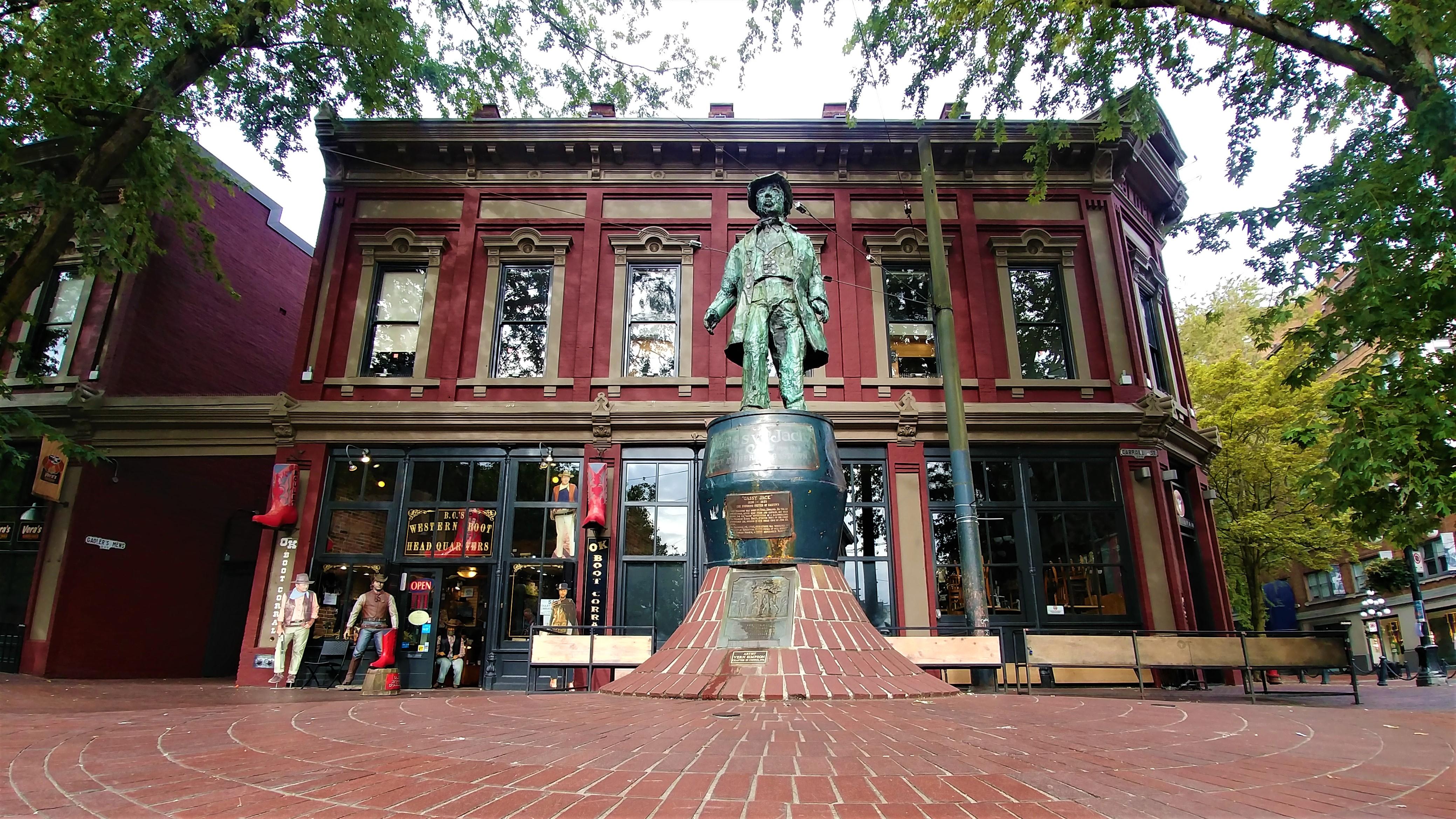 Vancouver Gastown que voir horloge a vapeur