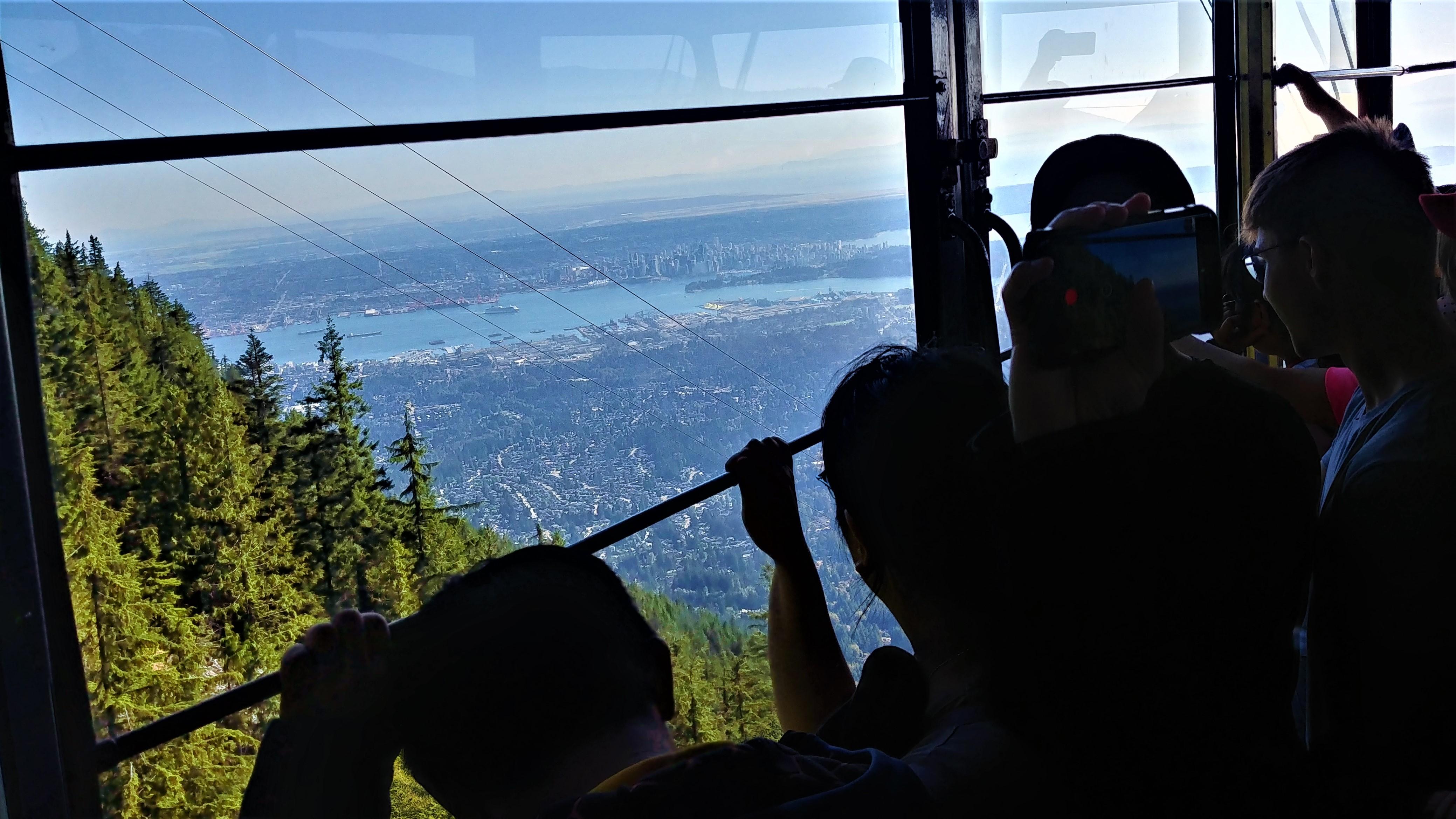 Vancouver Grouse Mountain gondola infos pratiques Grouse grind