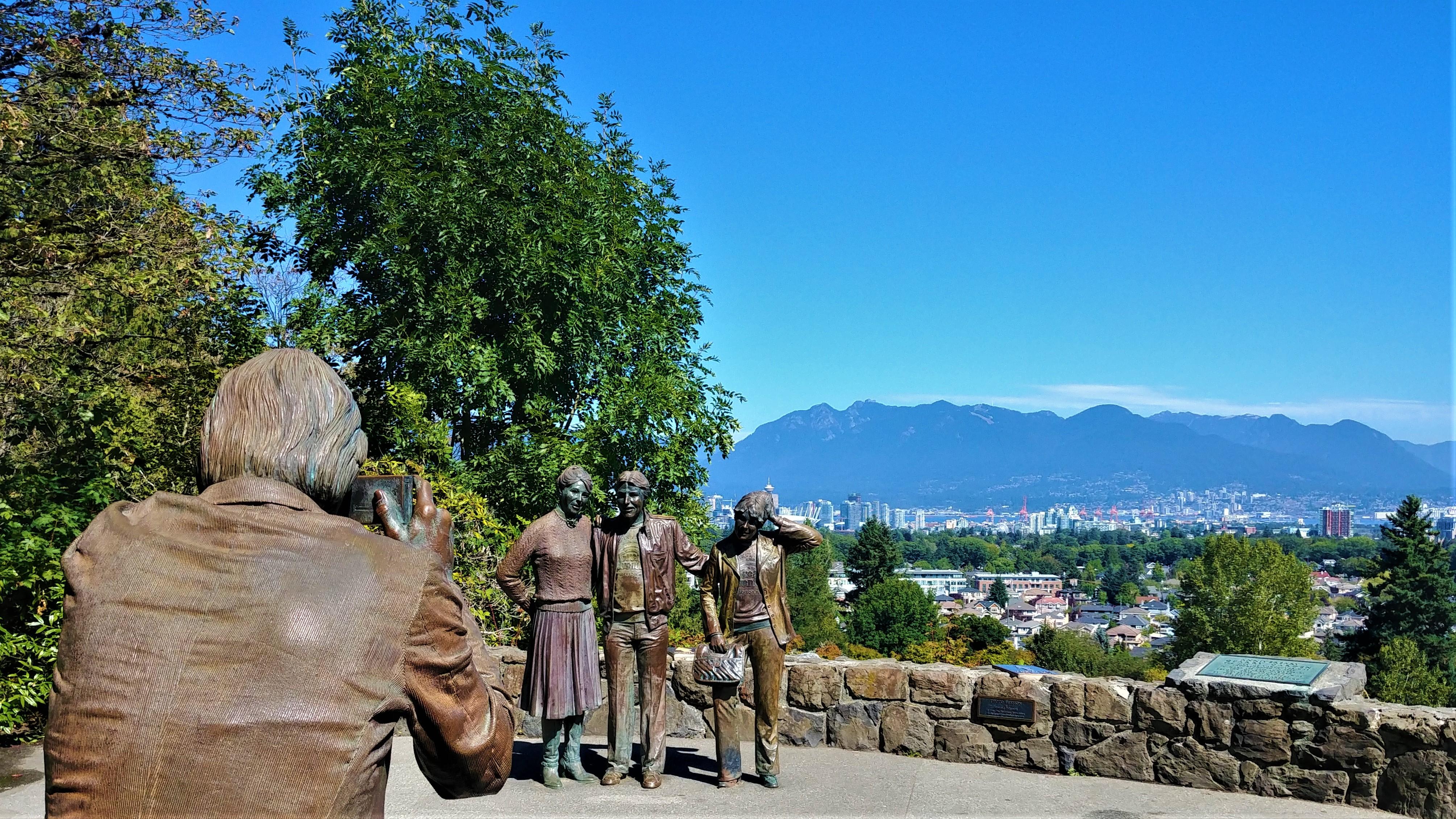 Vancouver Queen elizabeth park panorama