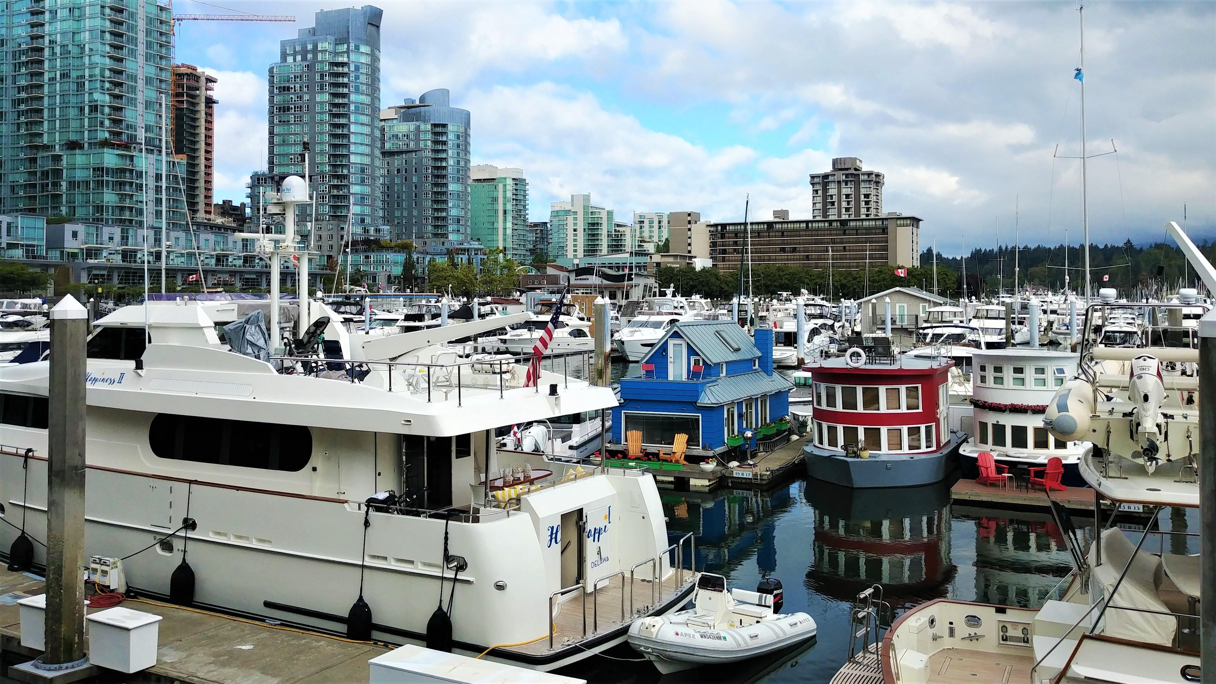 Vancouver coal harbour canada place que voir