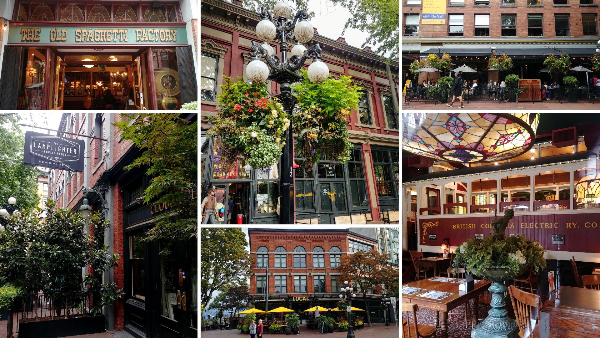 Vancouver gastown que faire balade blog voyage colombie-britannique arpenter le chemin