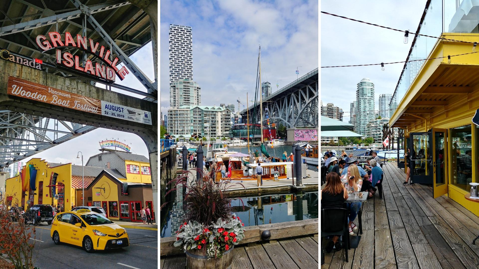 Vancouver granville island ou manger que faire balade blog voyage colombie-britannique arpenter le chemin